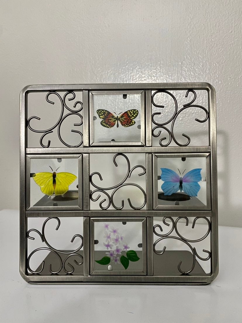 PARTYLITE Butterfly Easel Tealight Set