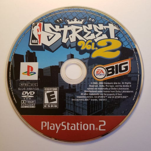 NBA Street Vol. 2 on Playstation 2