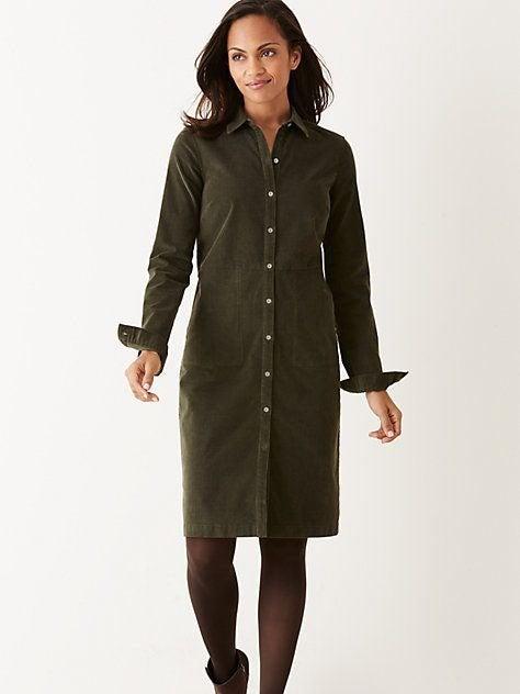 J Jill Corduroy Dress