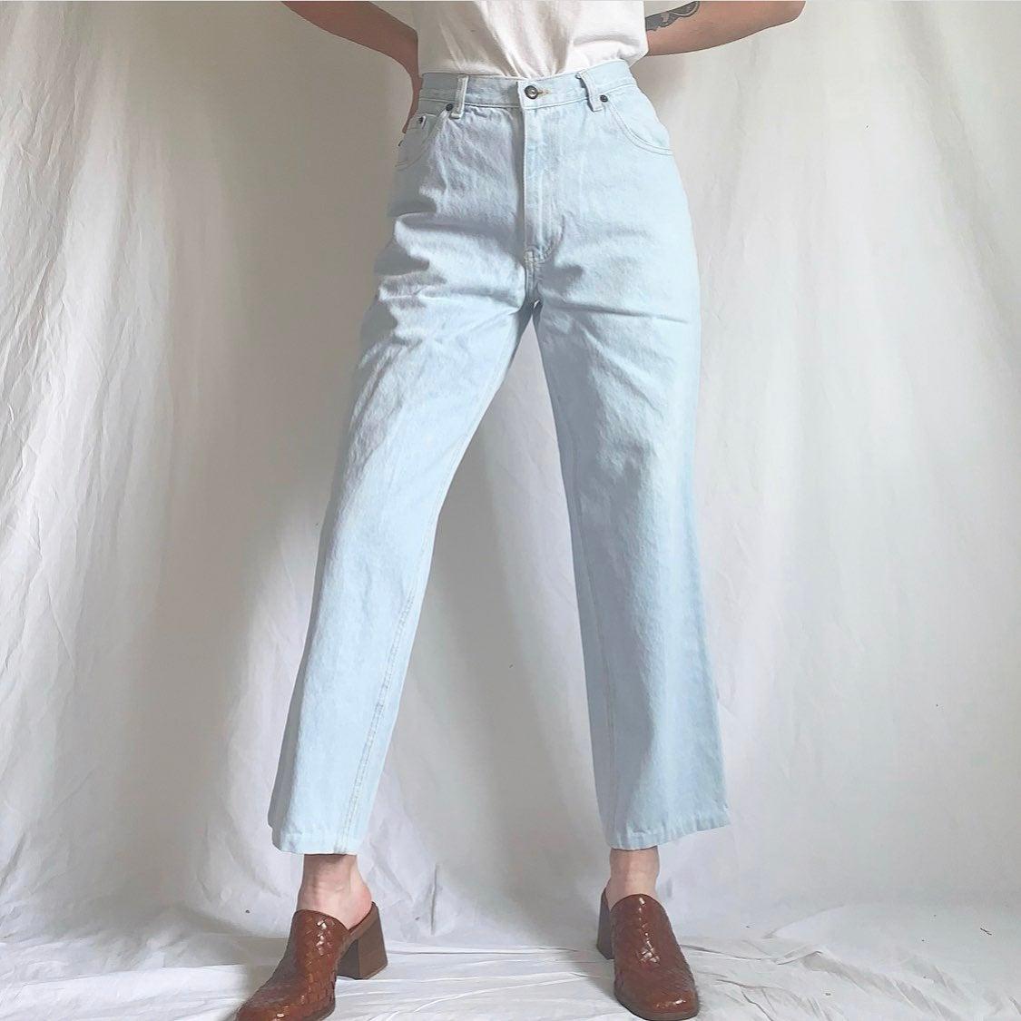 Vintage 90s Bugle Boy Light Wash Jeans