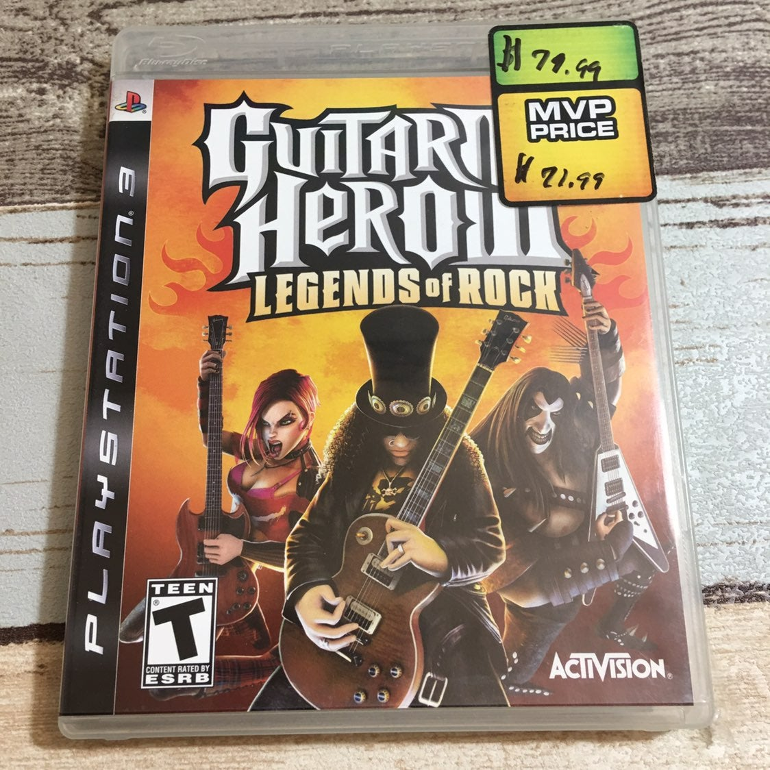 PS3 Guitar Hero III Legends of Rock Game