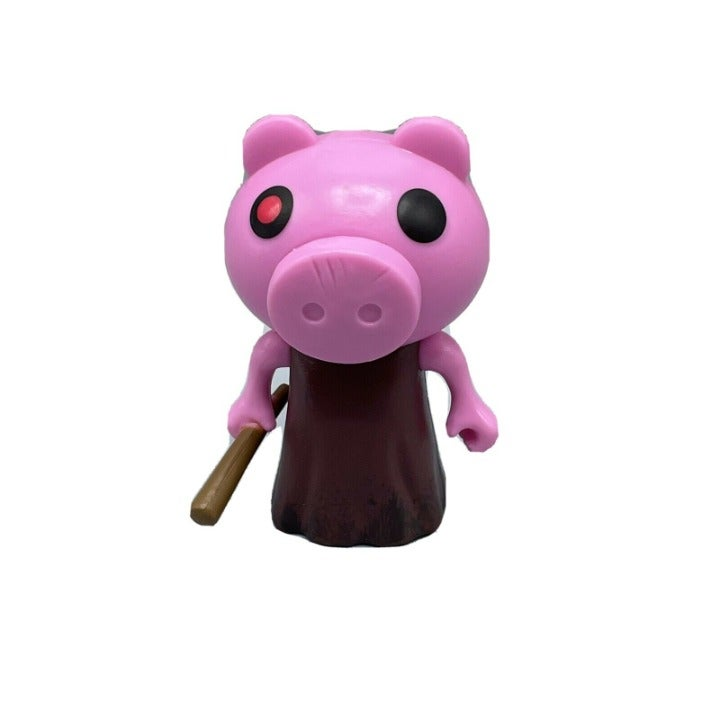 PIGGY w/ BASEBALL BAT MINI FIGURE PIGGY