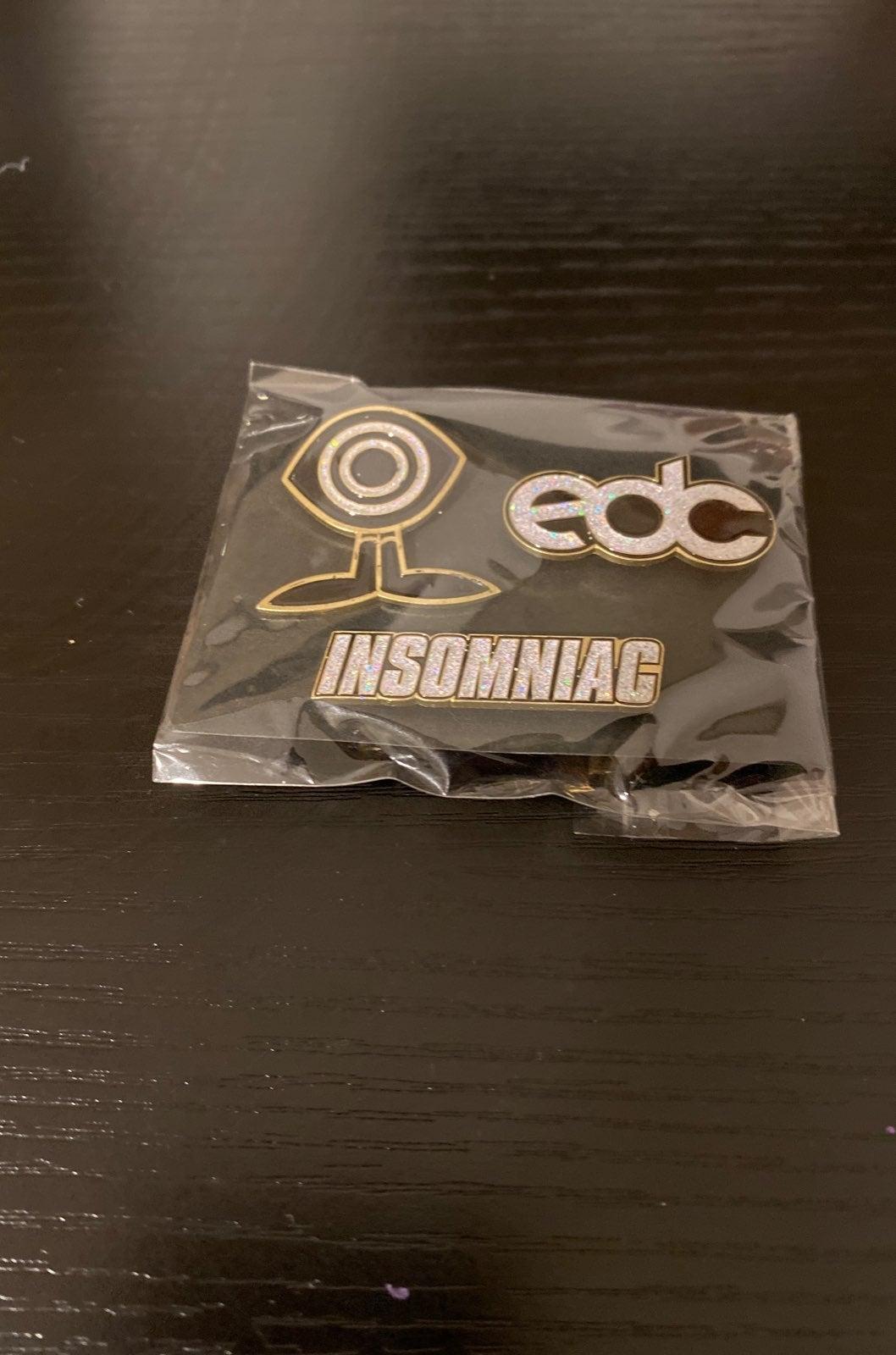 EDC Insomniac pins