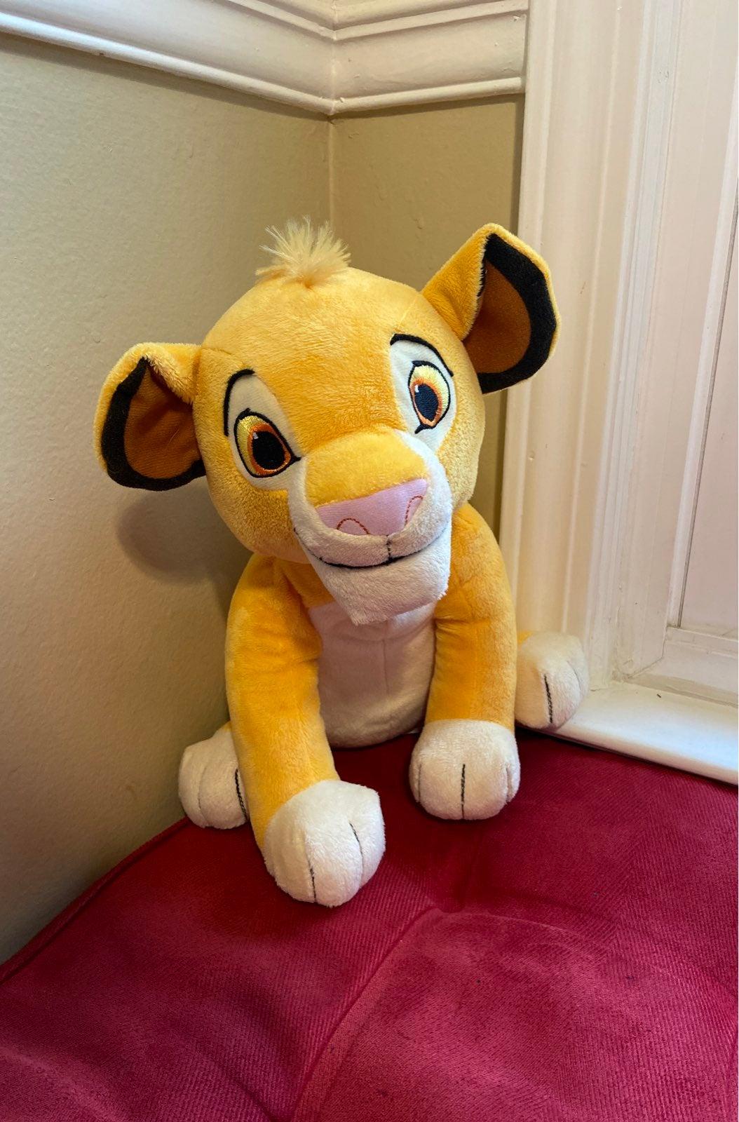 Kohl's Cares Simba Lion King Story Plush