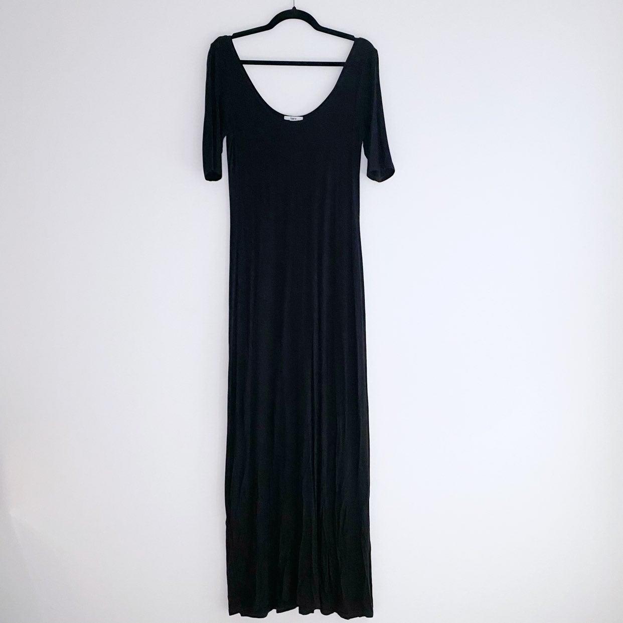 Bar III Black Maxi Dress Size M