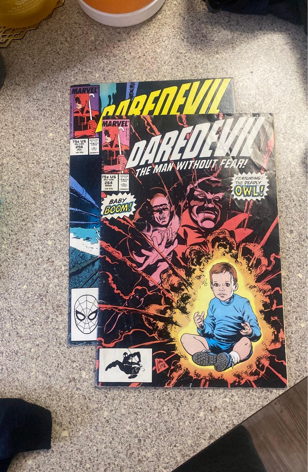 1988 Daredevil Marvel Comic Books (2)