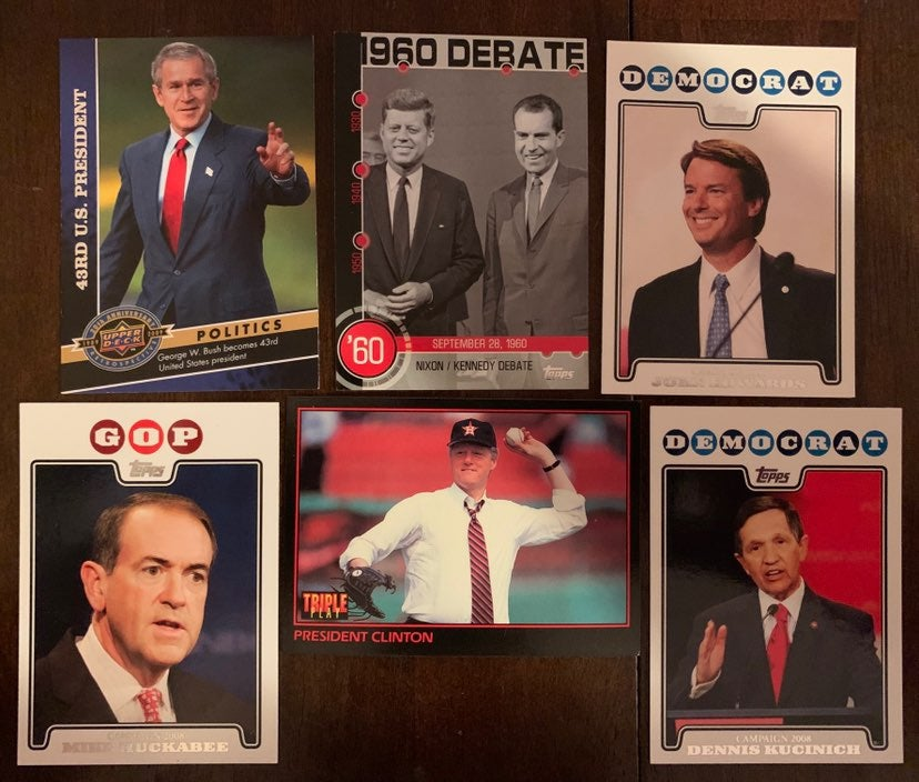 Politician Trading Cards