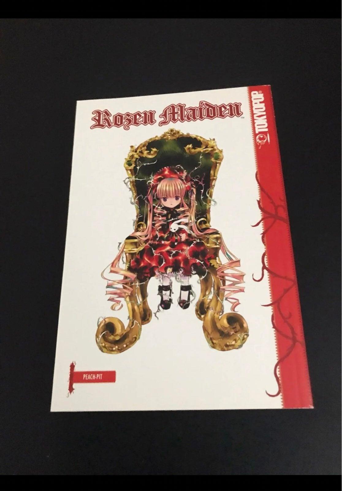 Rozen Maiden Manga Volume 1