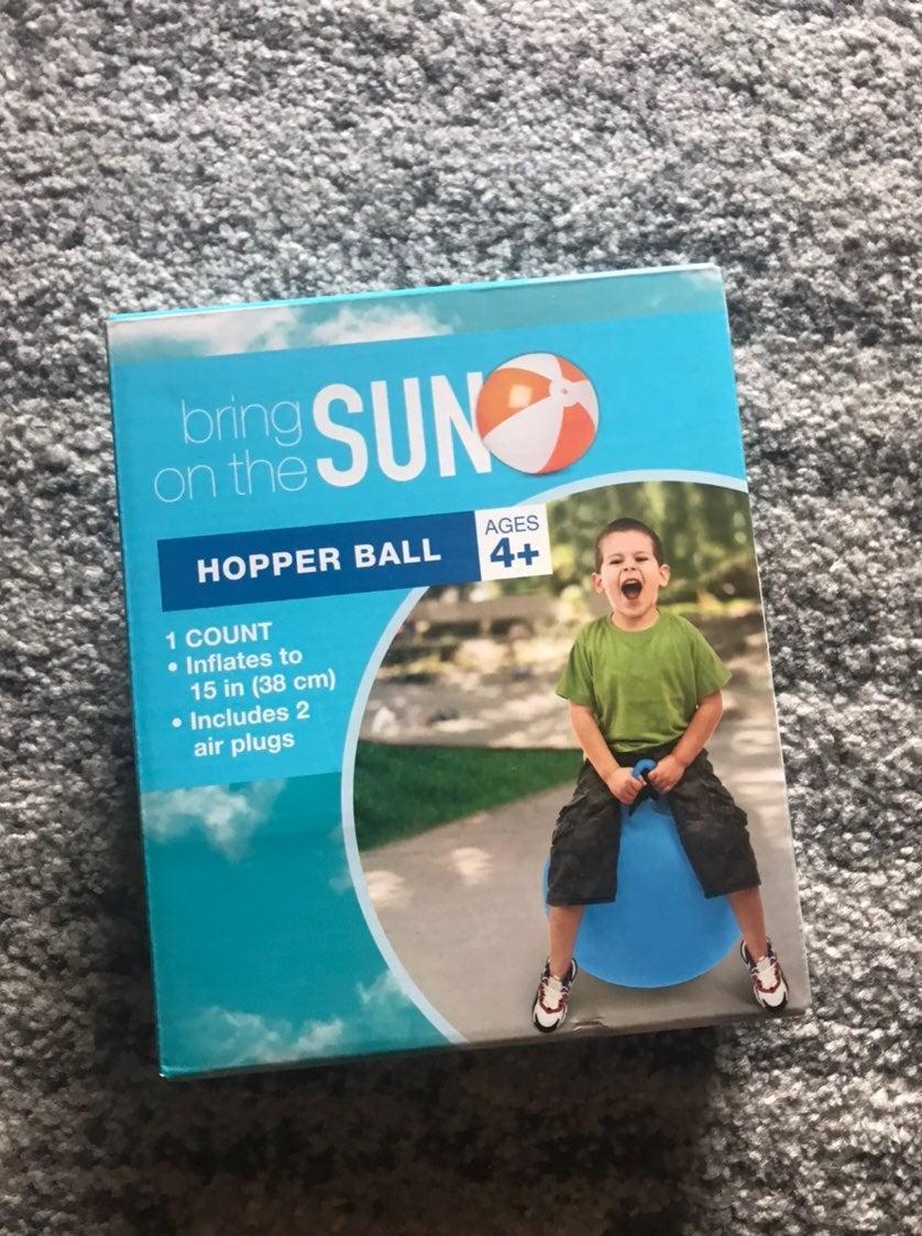 NIB Hopper Ball Toy Child Outdoor