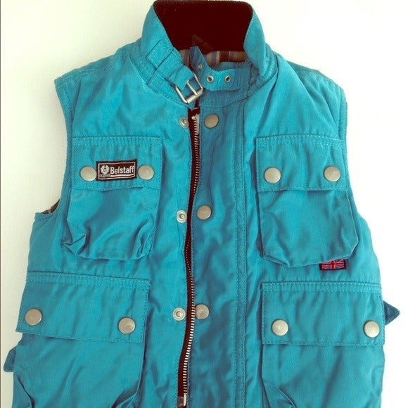Belstaff Boys Vest Blue Size 3T