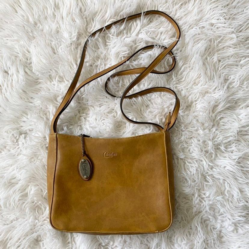 Candies Y2K Leather Shoulder Bag