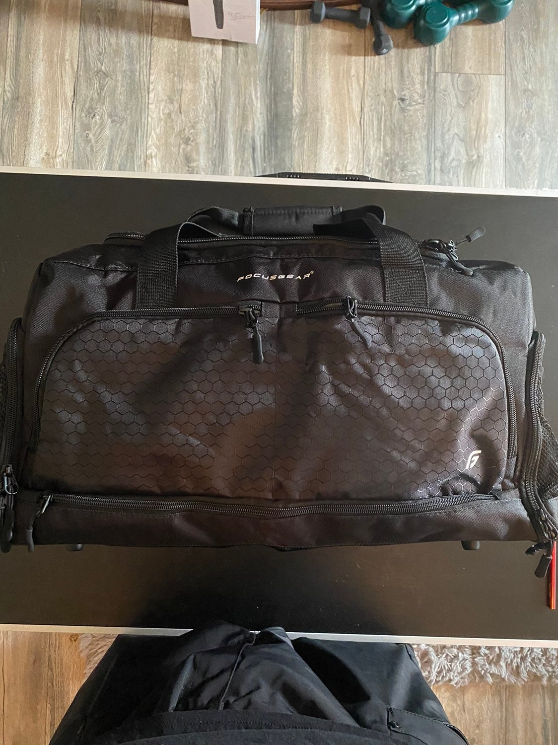 FocusGear Duffle Bag Dual black