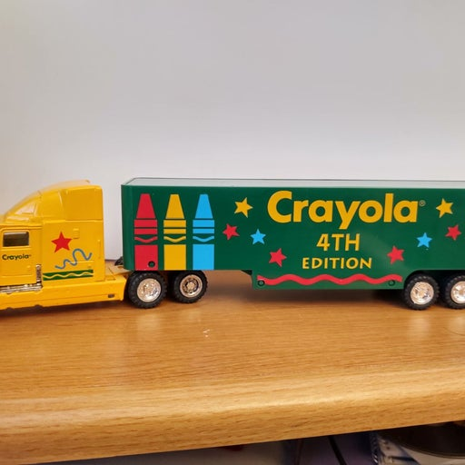 Vintage 1994 Crayola 4th Edition Semi
