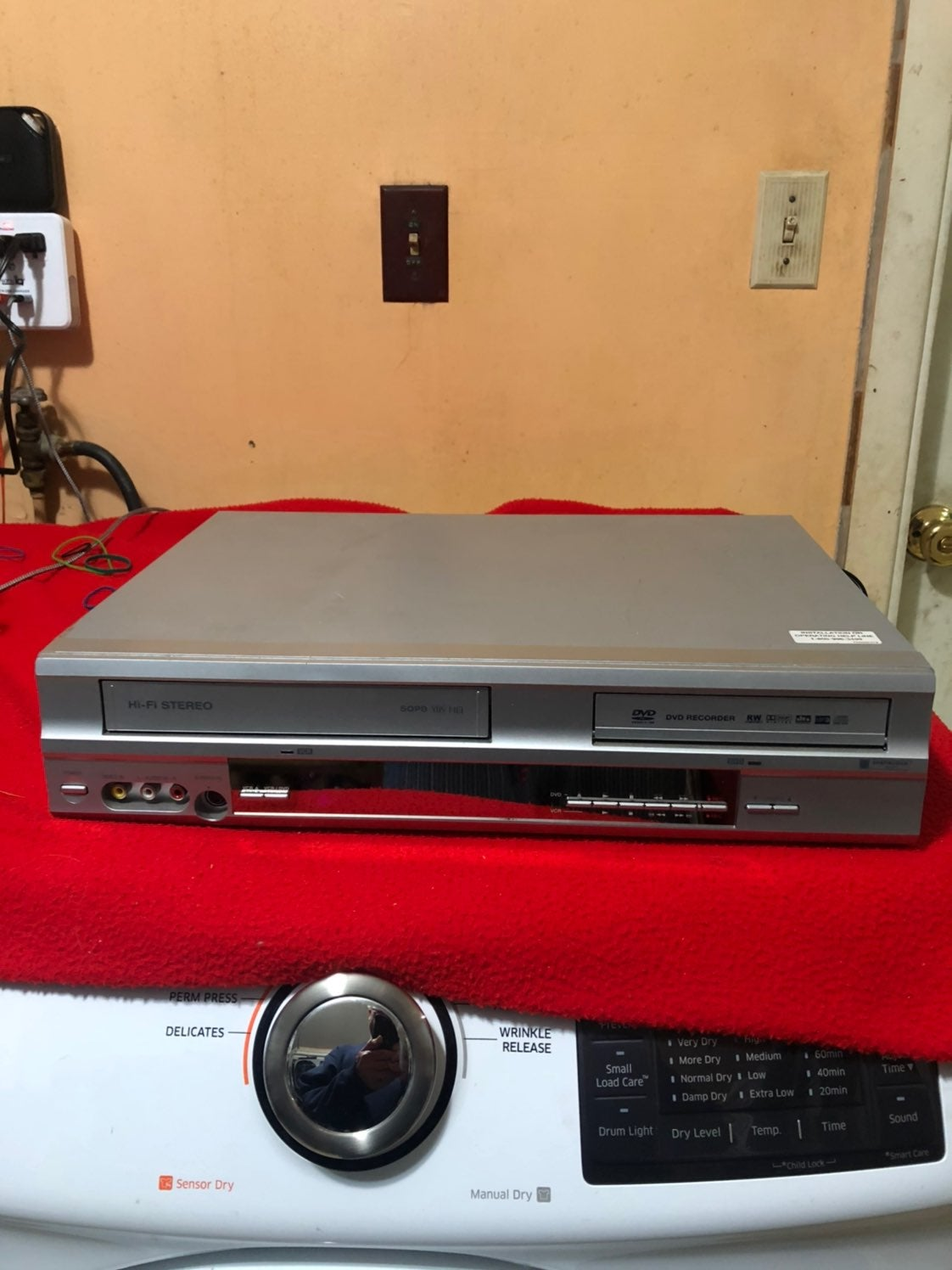 vhs and dvd recorder