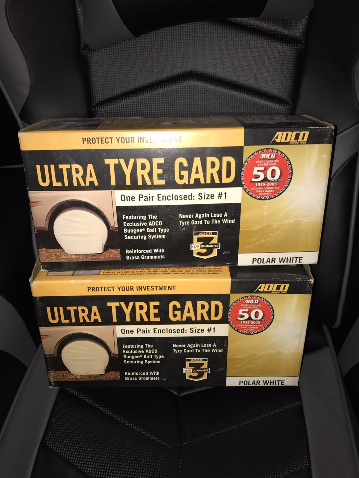 TWO PAIR 3591 Adco Ultra Tyre Gard