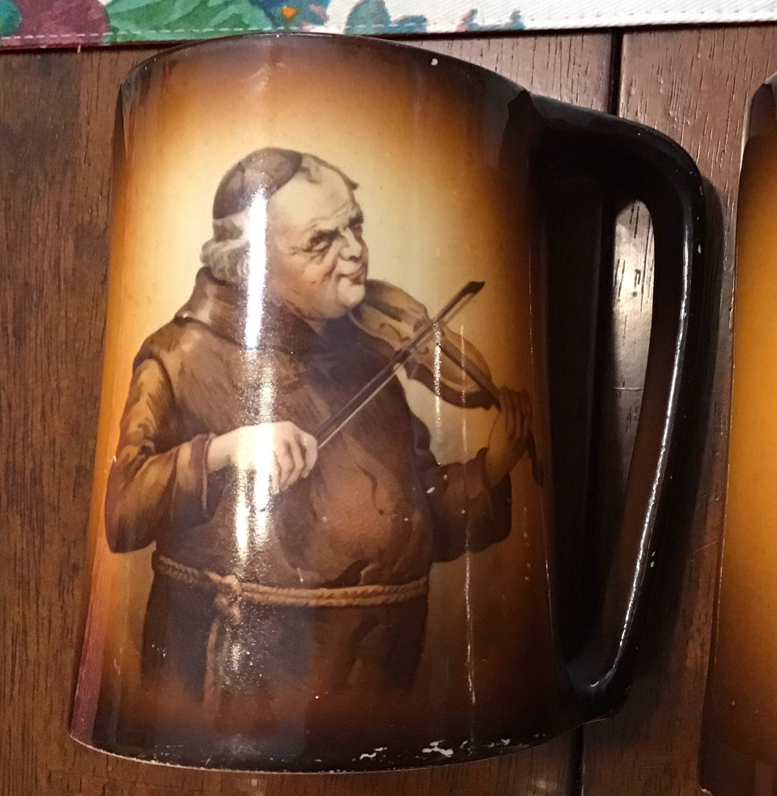 Antique Warwick IOGA mug set ~ 1900s