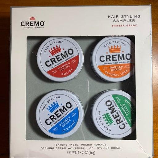 Cremo barber grade hair styling sampler