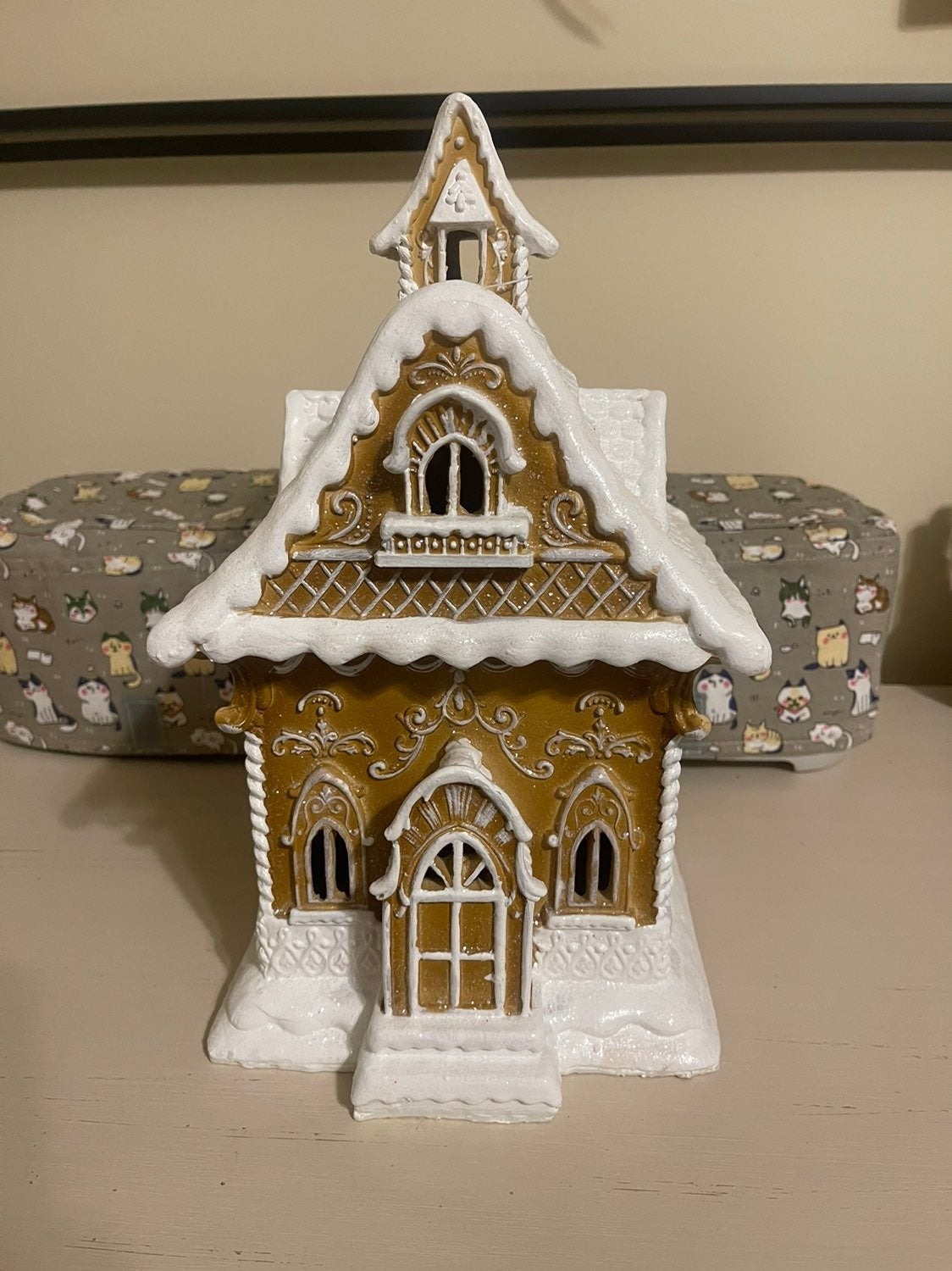 Gingerbread Light up House