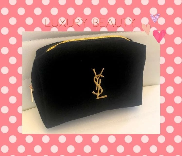 YSL cosmetic pouch