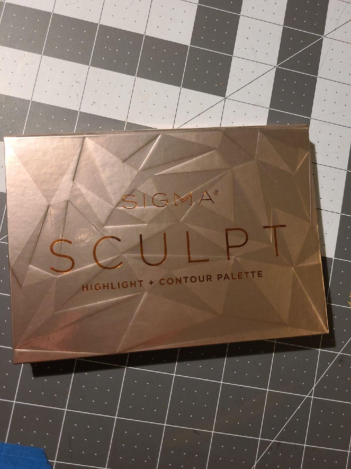 Sigma Sculpt Highlight + Contour Palette