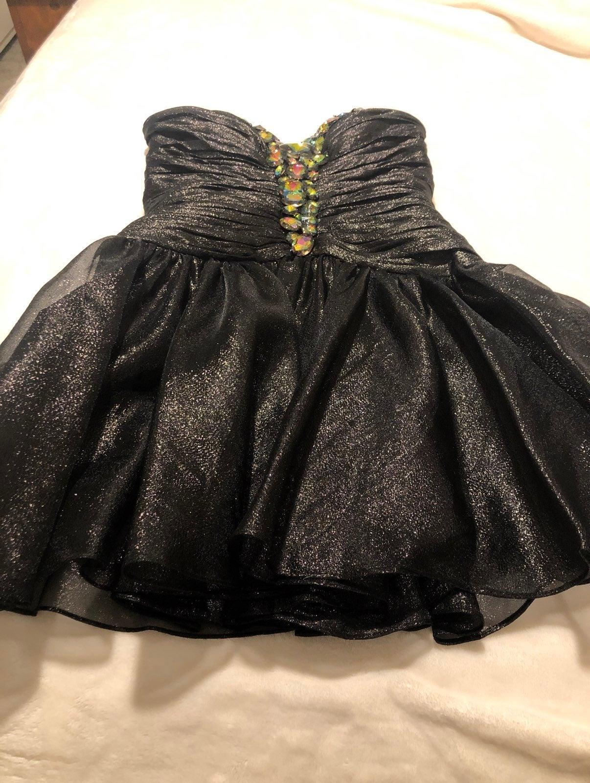 Strapless Sherri Hill Prom Dress