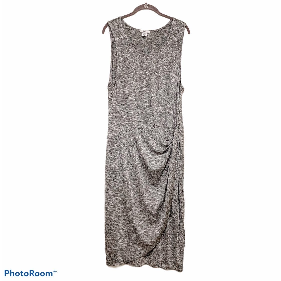 Bar III Sleeveless Wrap Dress
