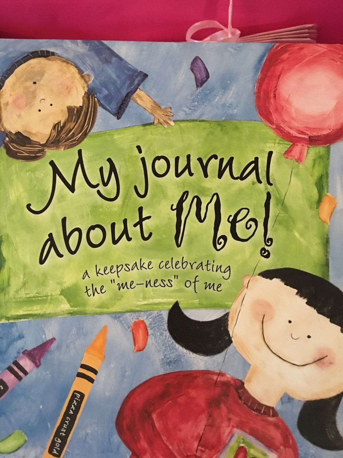 "Journal ""About Me"" Book"