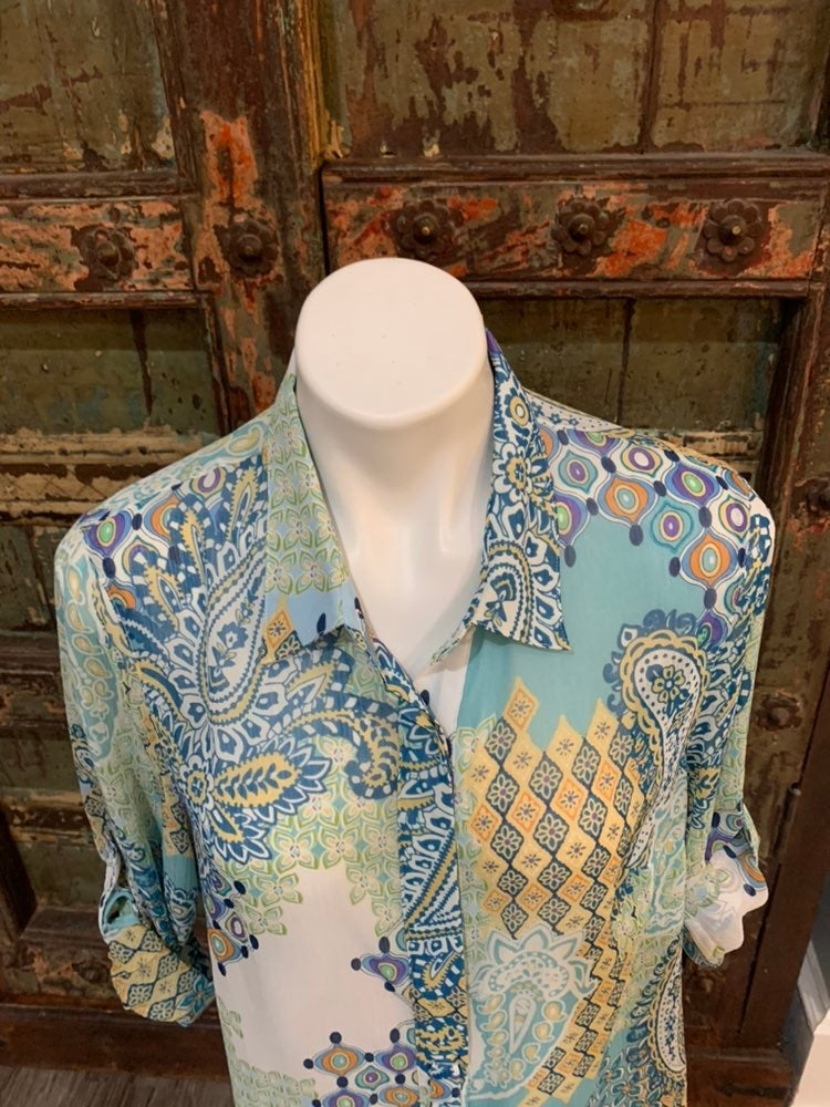 Like new coldwater creek button up shirt