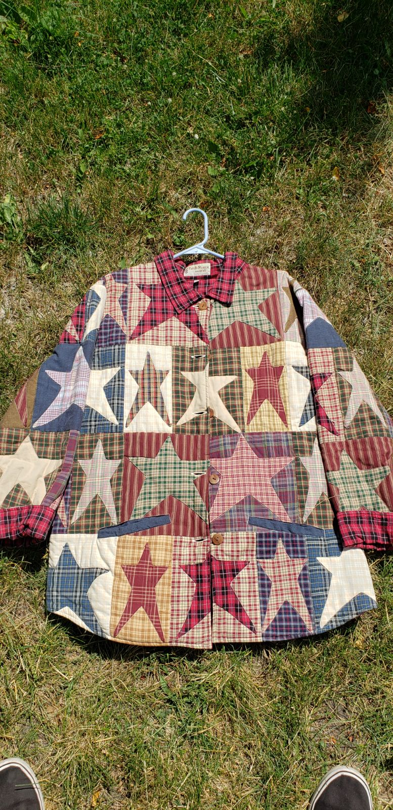 VINTAGE patchwork JACKET patch magic