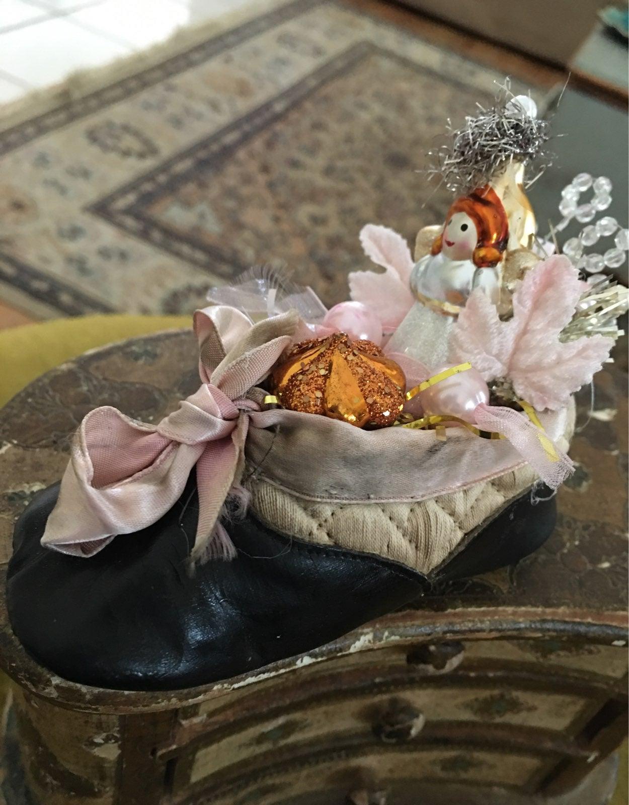 Baby slipper Angel Ornament