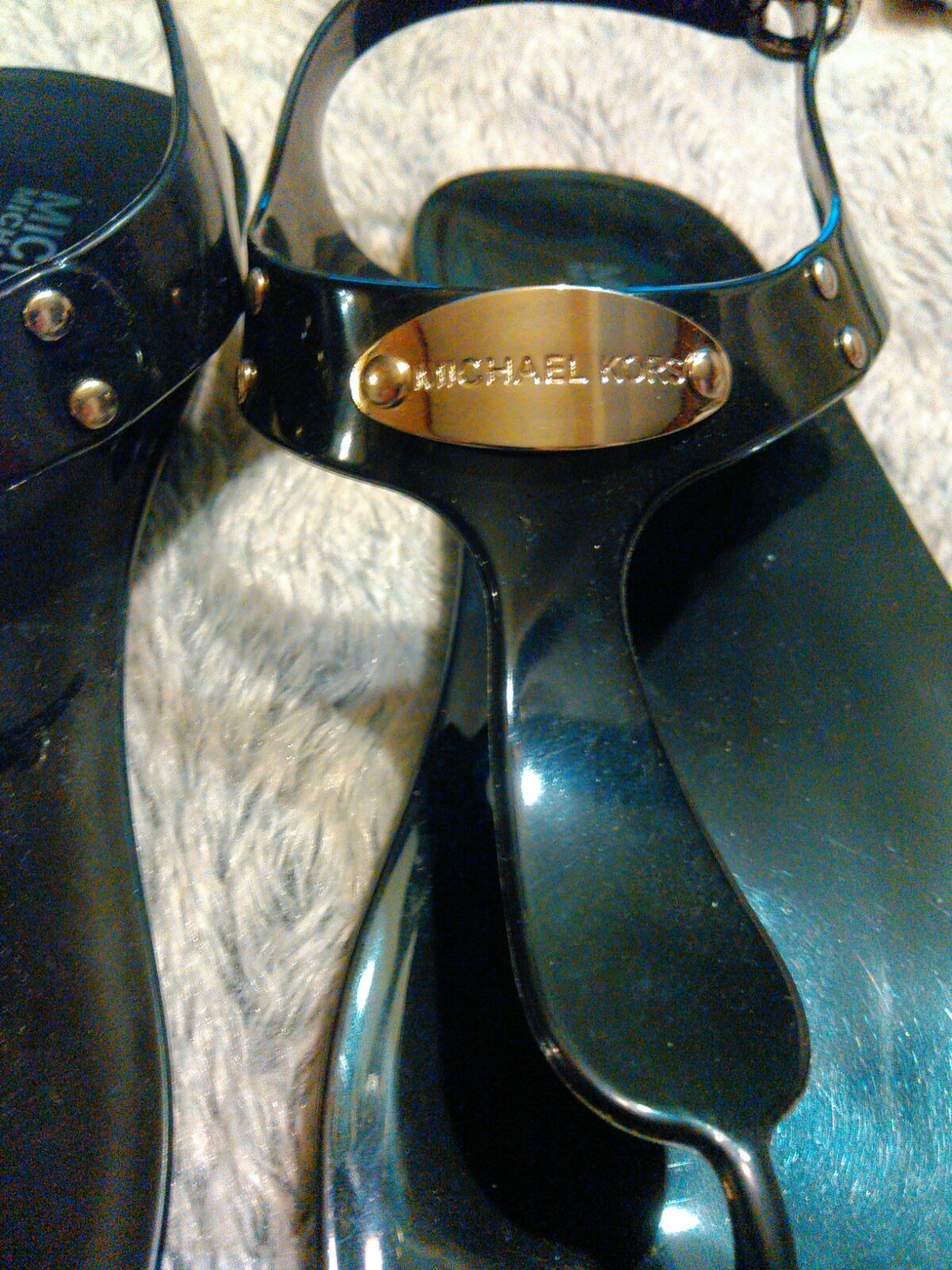 Michael Kors jelly sandals Size 7