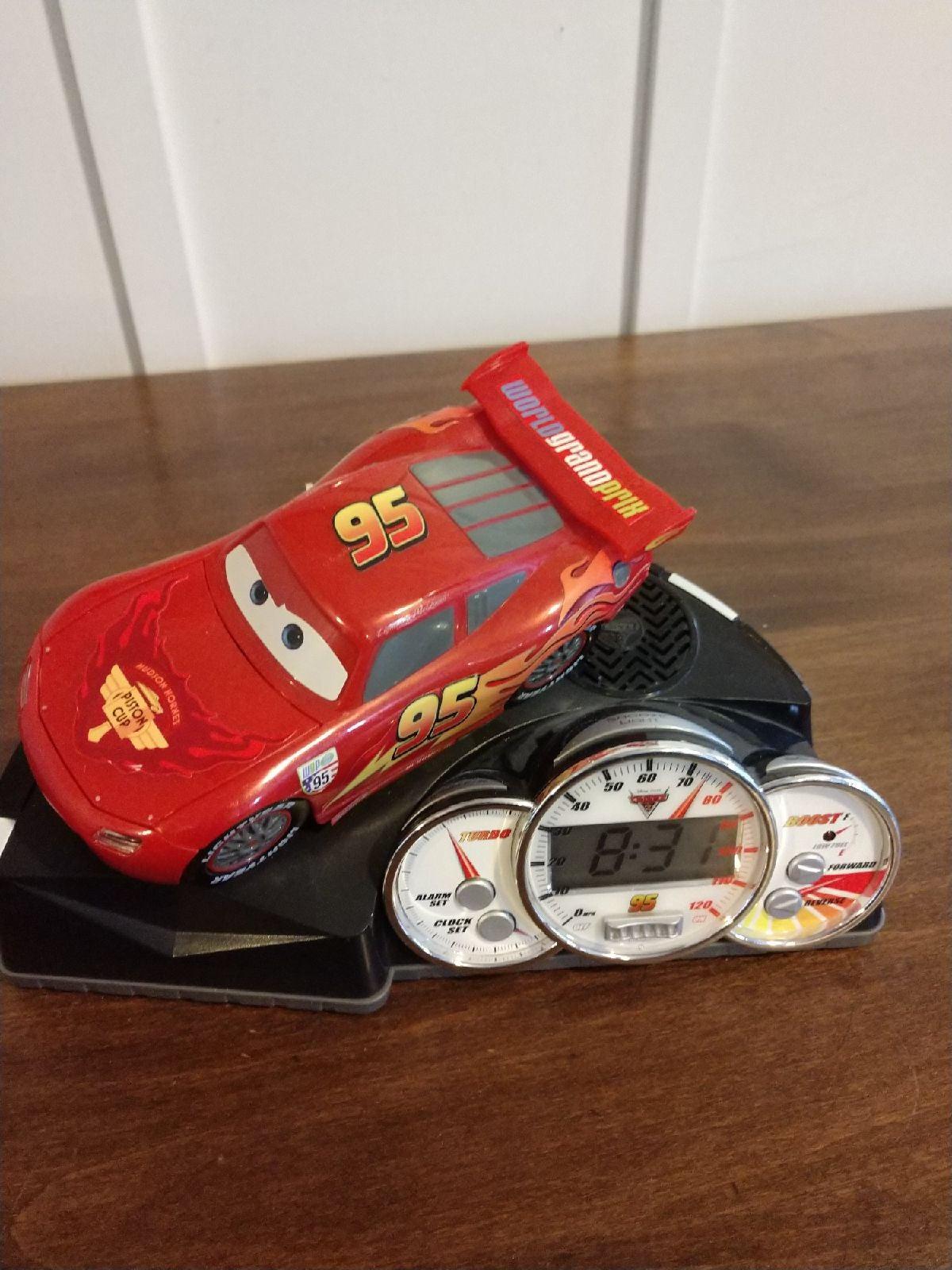 Cars moving alarm clock
