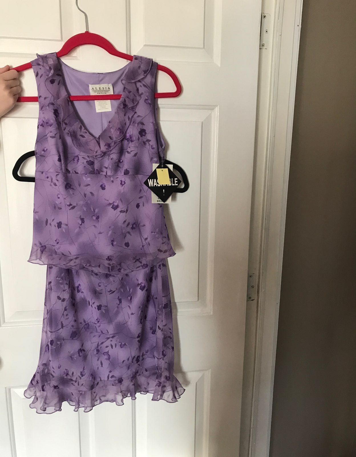 Alesia Floral Dress New With Tags