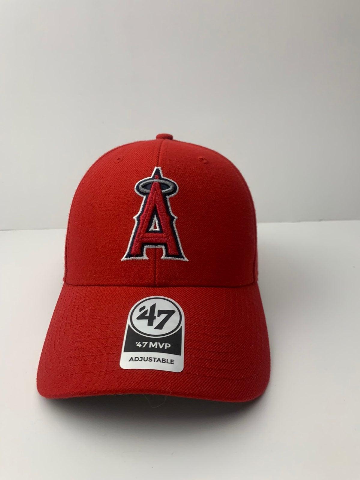 Angles Red BaseBall Hat Adjustable
