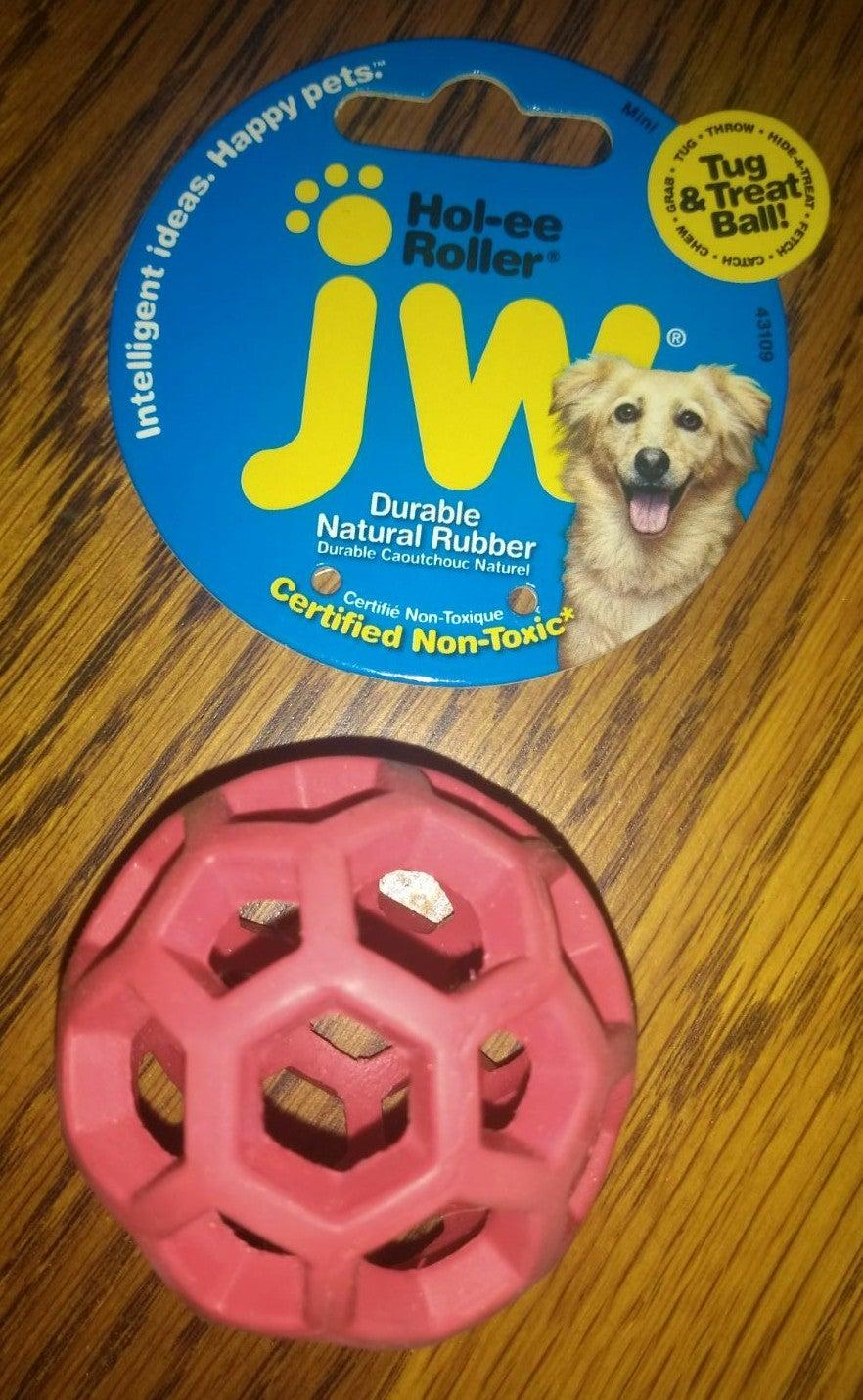 Doggie Tug & Treat Toy Small Hol-ee Roll