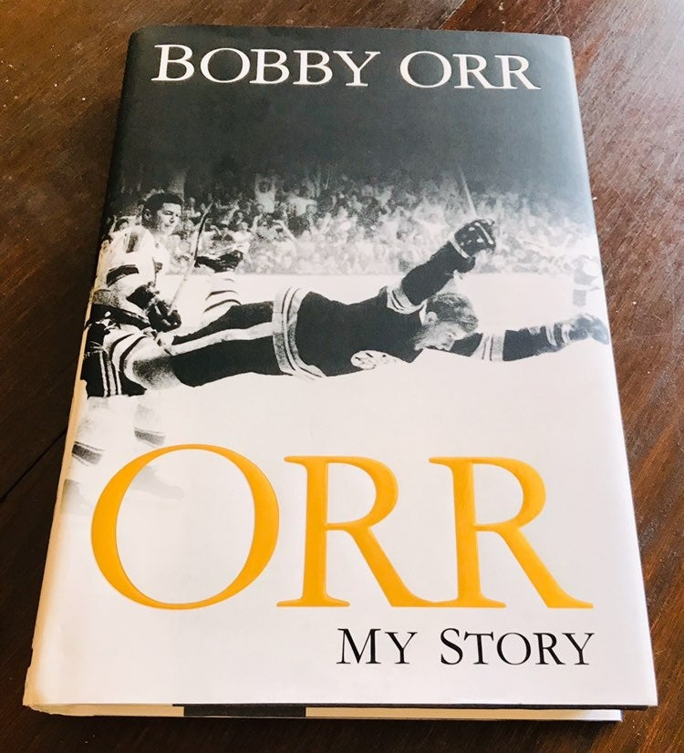 "Bobby Orr Signed Book ""My Story"" MINT !"