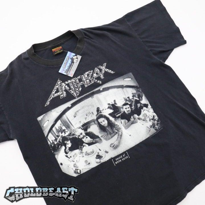 VTG 90s Anthrax White Noise USA Tour Tee