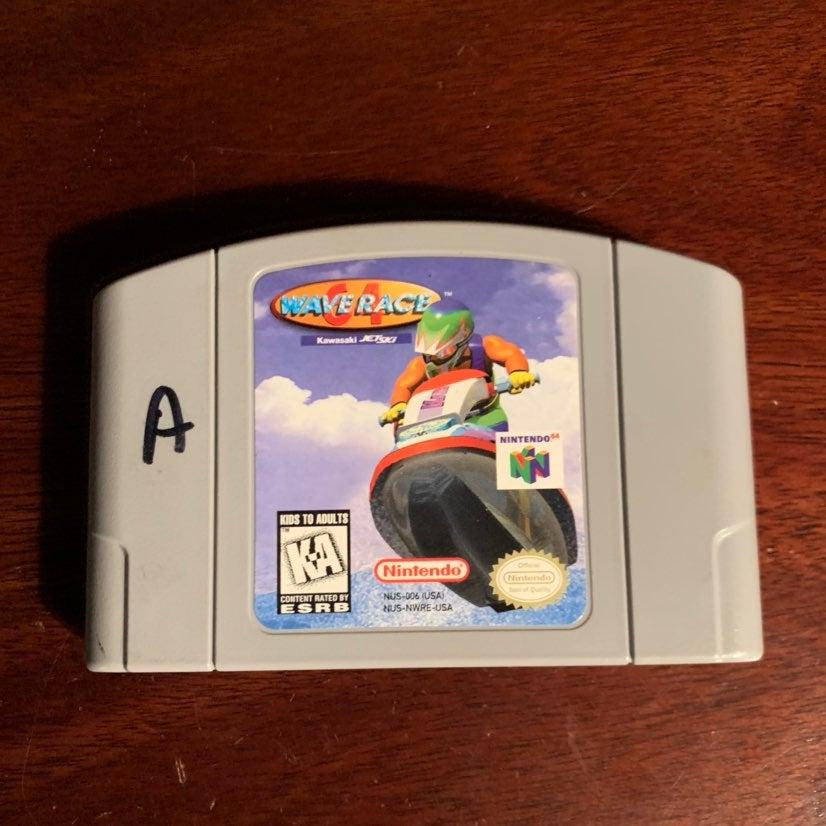 Wave Race 64 for Nintendo 64 N64 Loose