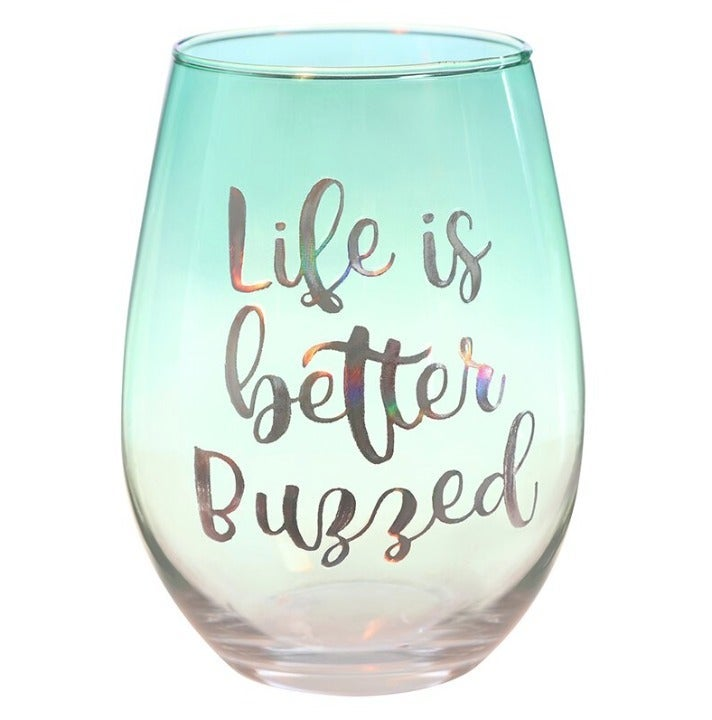 Funny Stemless Wine Glass 20 Ounce