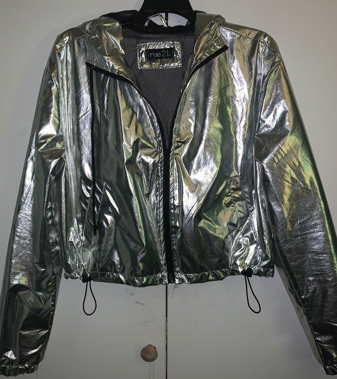 Reflective jacket nwot