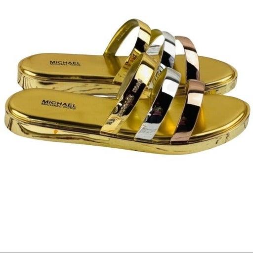 Michael Kors Keiko Slide Sandals Size 8