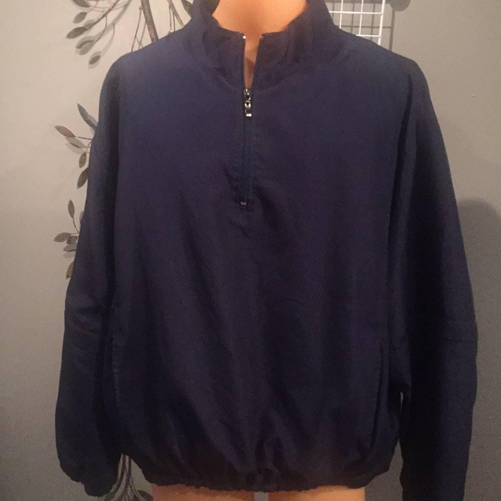 George Mens 1/4 zip washable golf jacket