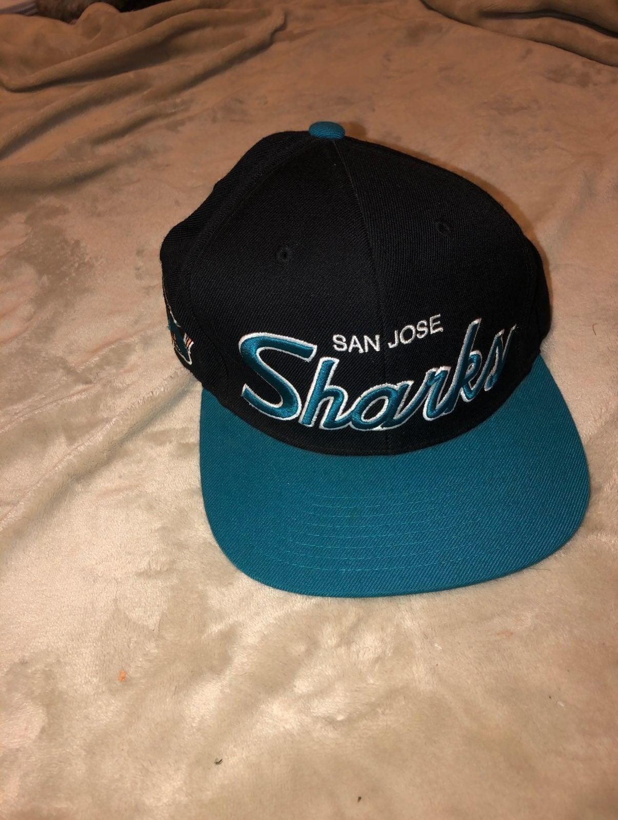 San Jose Sharks Black Hat