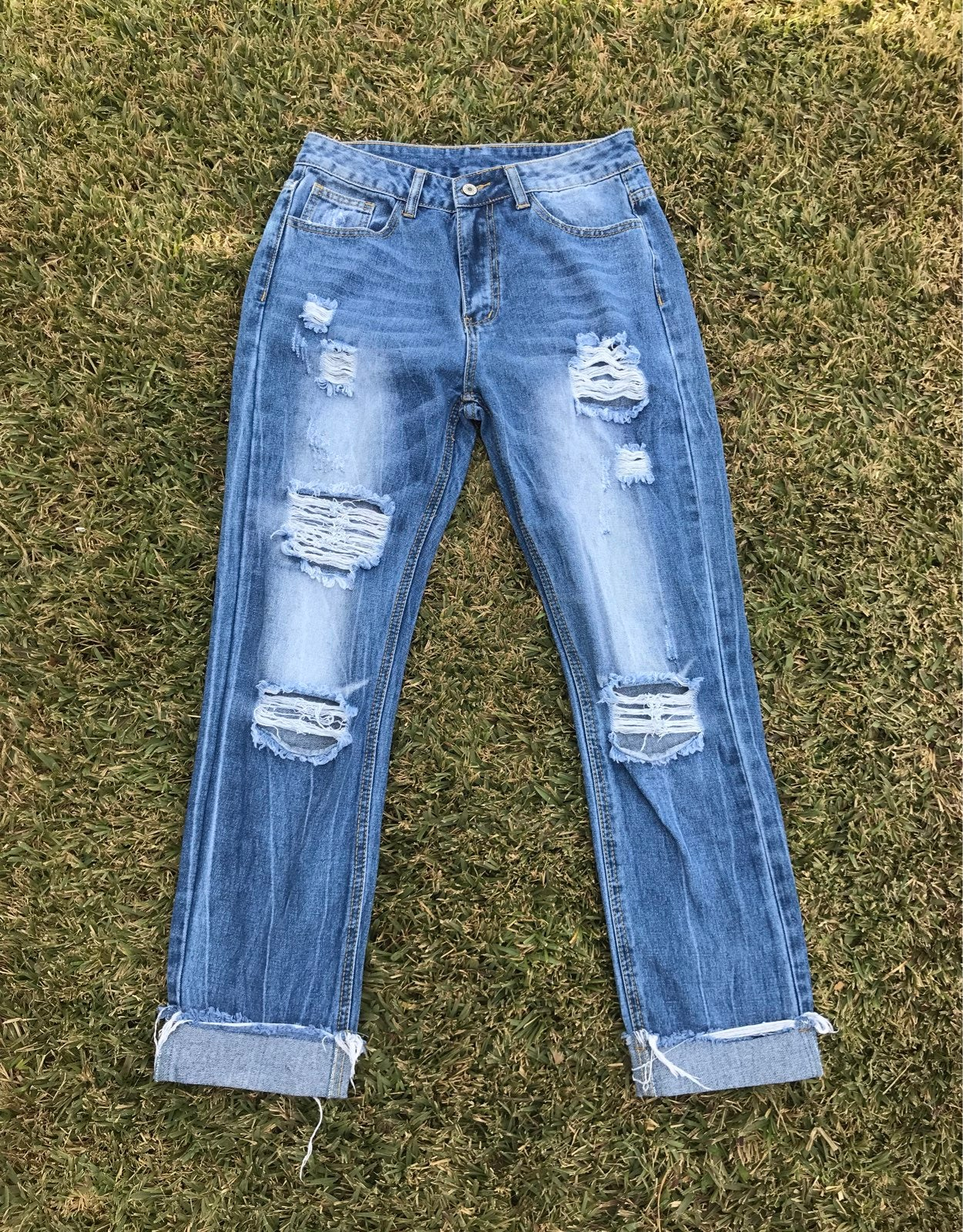 Medium Washed SHEIN jeans
