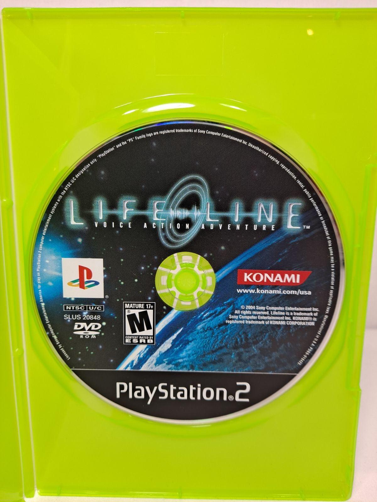 Lifeline Game Konami Playstation 2 PS2