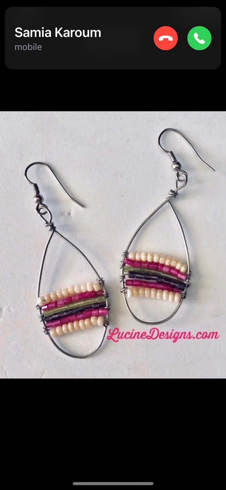 Beaded Earrings - new