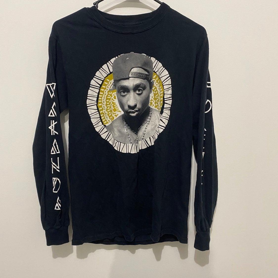 Tupac Shakur Long Sleeve Tee Shirt Small