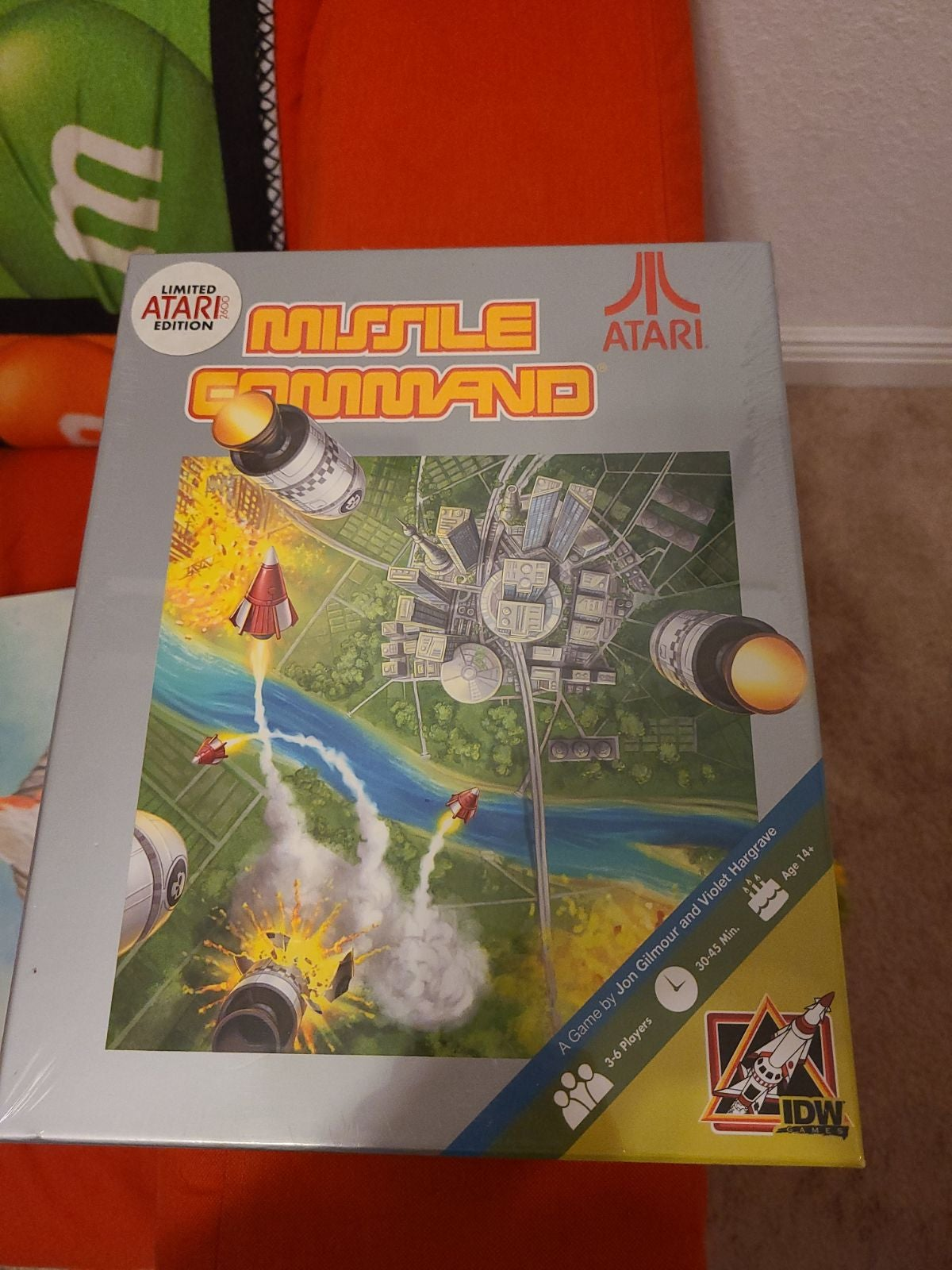 Missle command board game