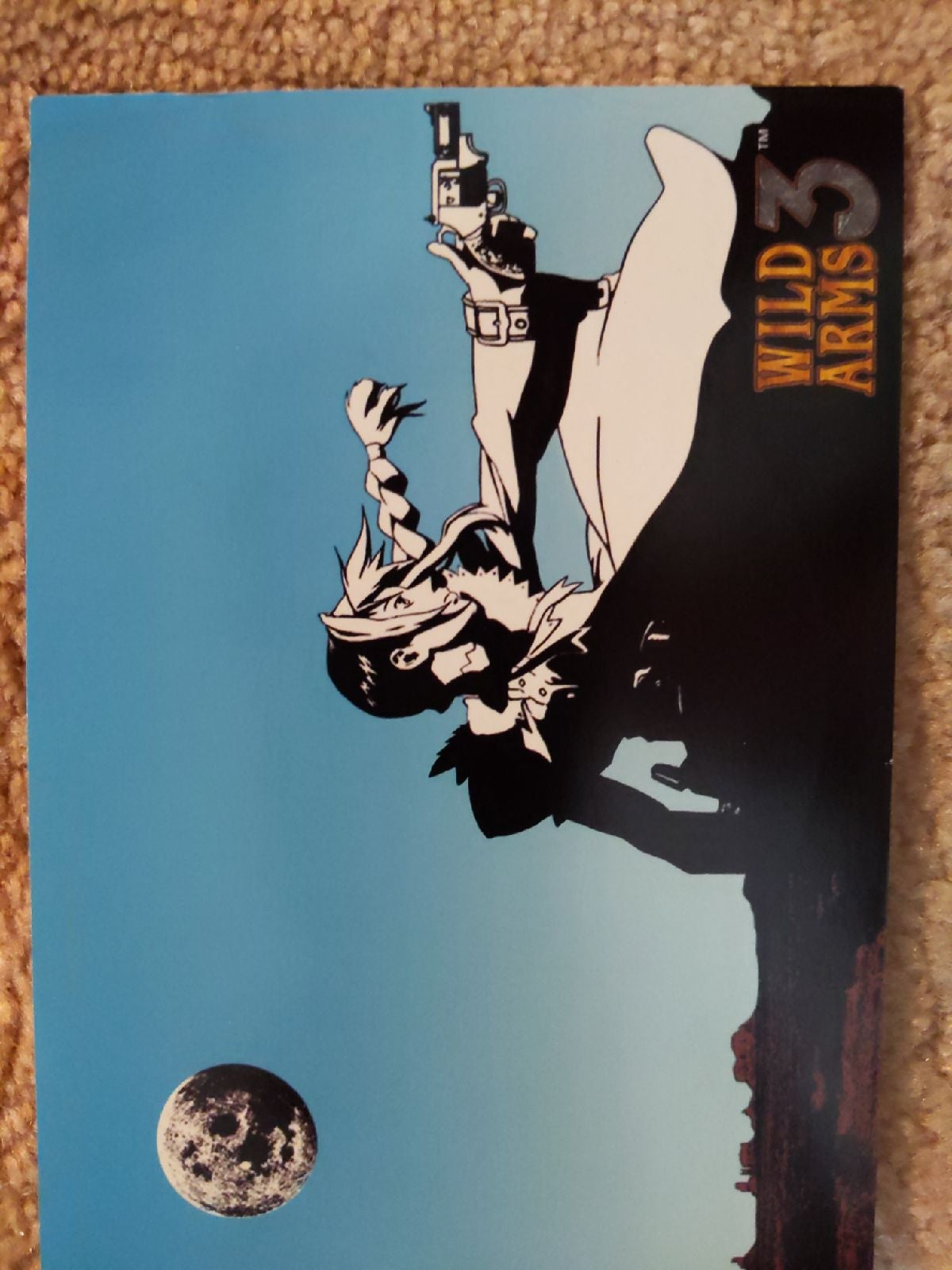 Wild Arms 3 postcard
