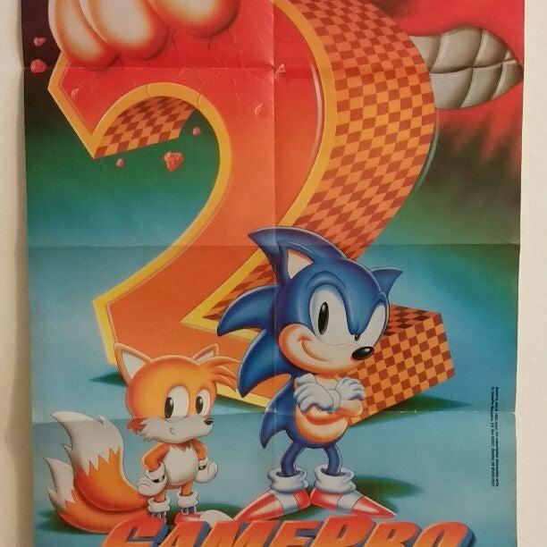 Vintage games pro poster